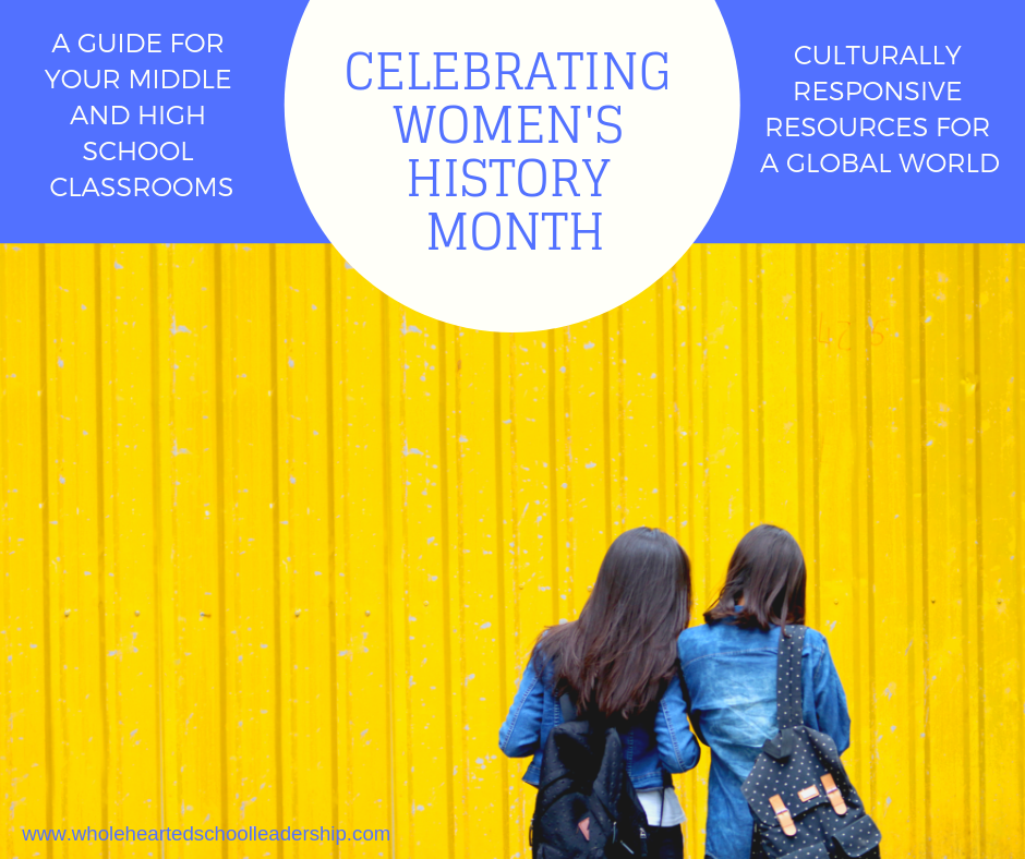 Women's History Month: A Classroom Guide